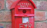 Post Box Bird Box