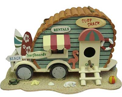 Surf Shack Bird House