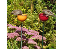 Flower Bed Bird Feeder