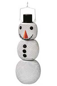 Mr Snowman Bird Feeder