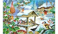 Feed The Birds Jigsaw Puzzle