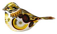 Royal Crown Derby Yellowhammer Paperweight