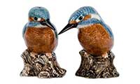 Kingfisher Salt And Pepper Pots