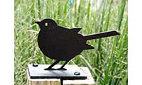 Robin Fence Post Finial