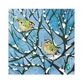 RSPB Snowy Meeting Christmas Cards