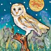 RSPB Twilight's Keeper Christmas Cards