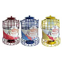 3 Squirrel Proof Bird Feeders