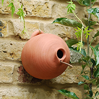 Blue Tit Terracotta Bird Pots