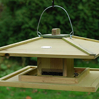 Hanging Japanese Style Bird Table