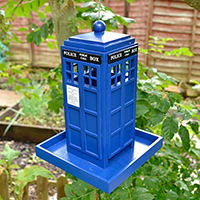 Doctor Who Tardis Bird Feeder