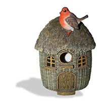 Wicker Robin Birdhouse